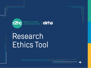 Ethics Tool Cover Page