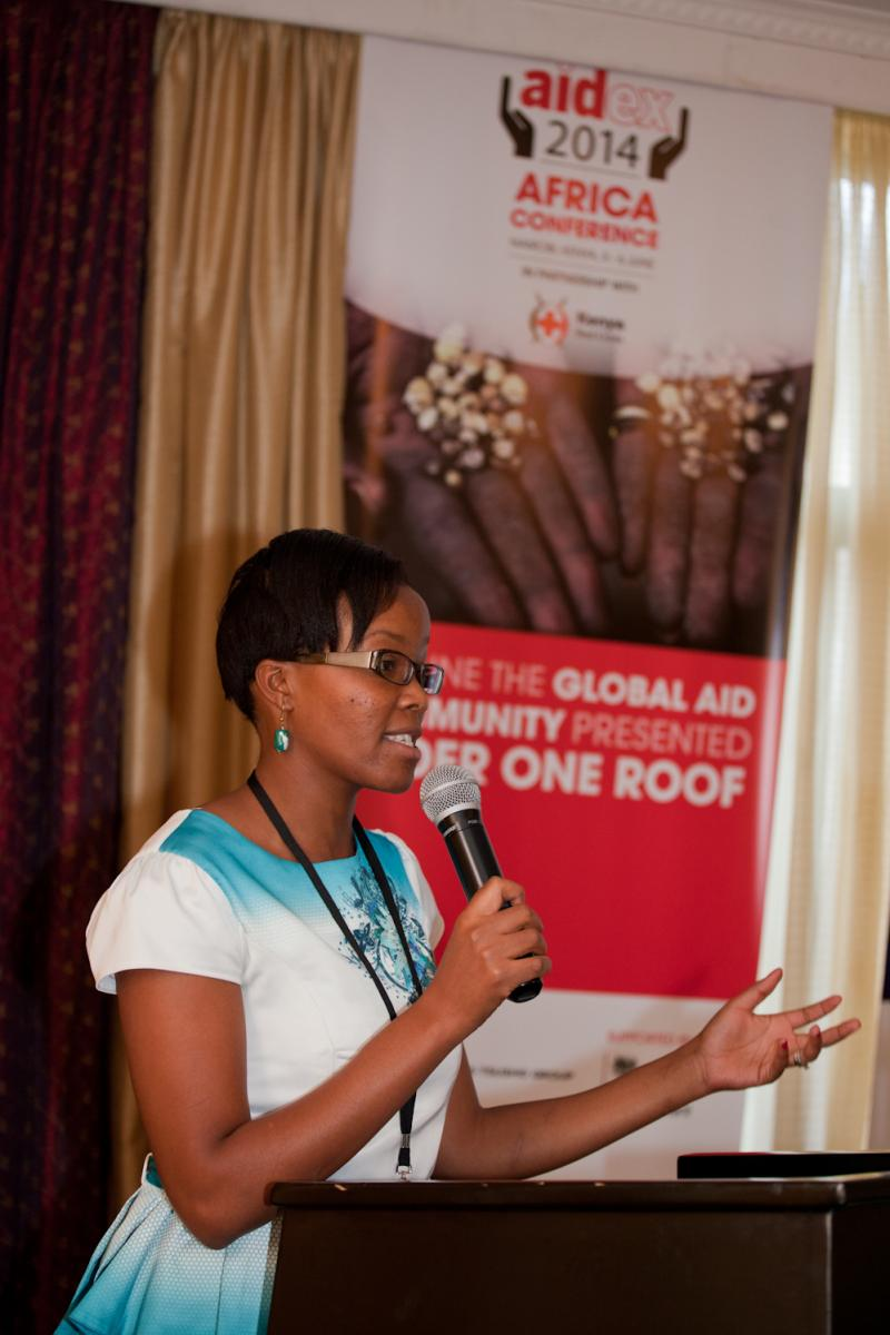 phoebe_presenting_at_aidexafrica