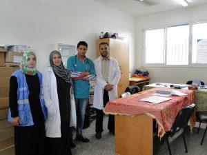 UNRWA Health Clinic Staff @Elyse Callahan