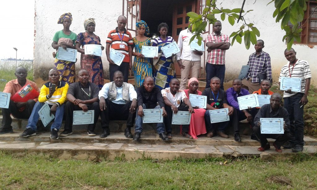 Training nurses and midwives in North Kivu. Credit IMC