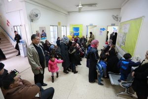 © UNRWA 2016 Photo by Mohammad Magayda Various Palestine refugees waiting for their appointments at Zarqa Health Centre, Zarqa, Jordan