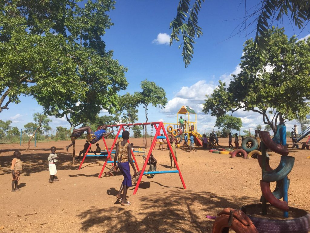 Child Friendly Spaces in the Refugee Settlements