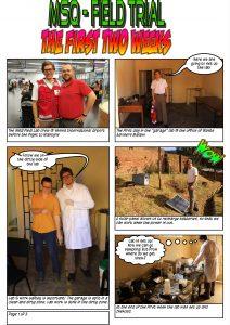 Page 1/ Comic by Johannes Bousek