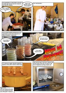 Page 3/ Comic by Johannes Bousek