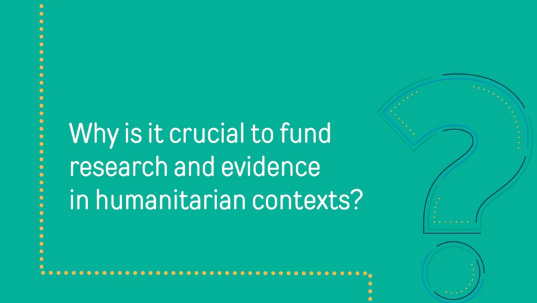 Why Is Funding Research And Evidence Crucial In